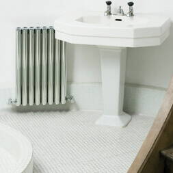 Eskimo Designs Ron Polished Sink Radiator