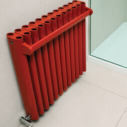 Eskimo Designs Red Towel Rail