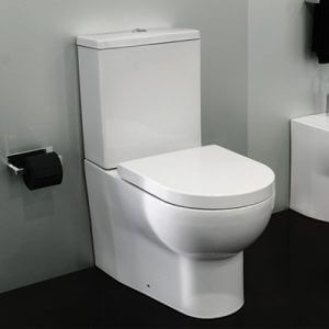 Cifial Block Back to wall close coupled WC & seat