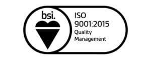bsi ISO 9001:2015 Award
