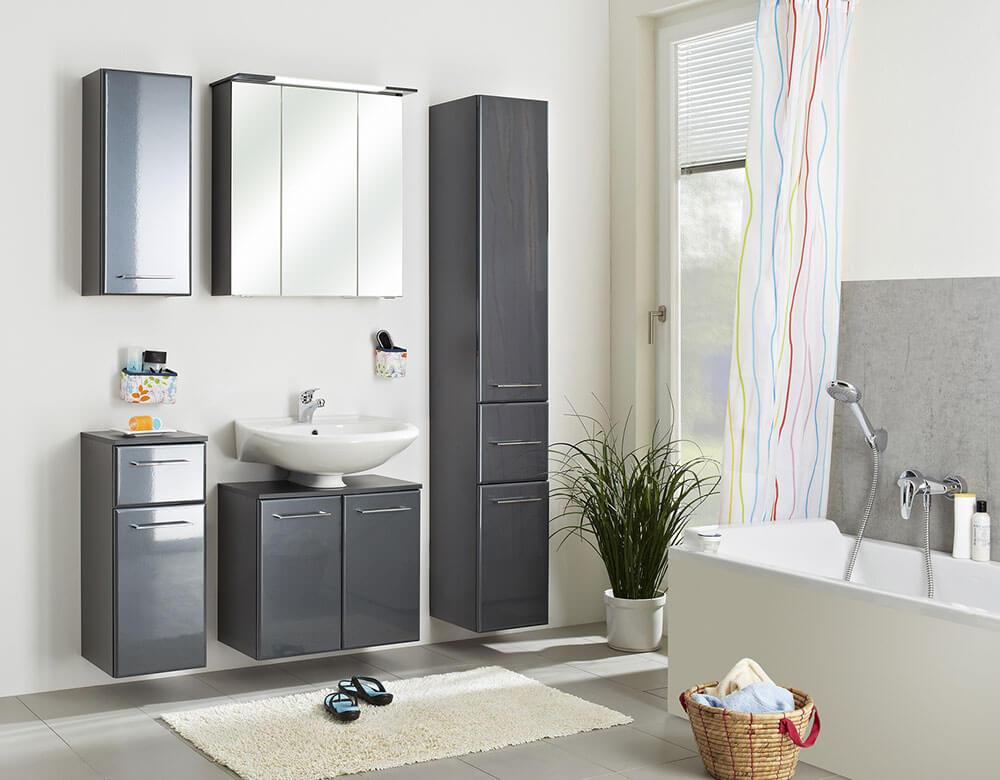Pelipal SEO Grey bathroom furniture