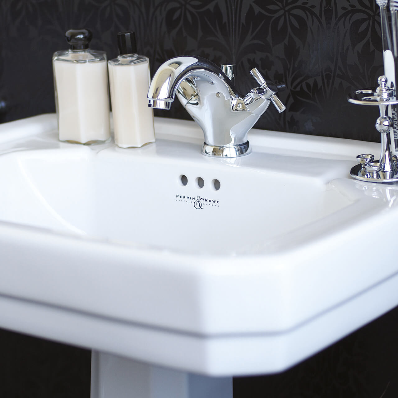 Perrin-and-Rowe-monobloc basin mixer tap