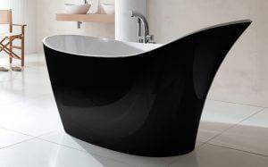 Victoria and albert Amalfi freestanding bath black