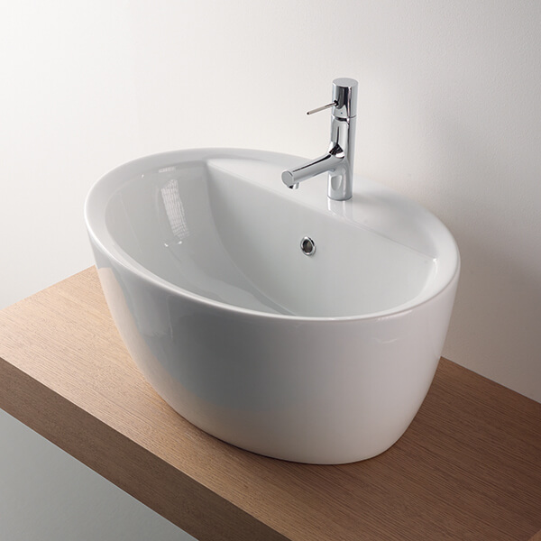 sottini Cannobino white washbasin